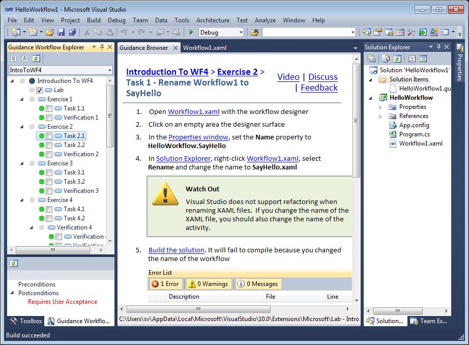 Visual Studio Myegy