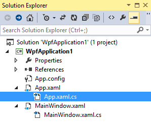 Folders and files only in Visual Studio 2013 Solution Explorer