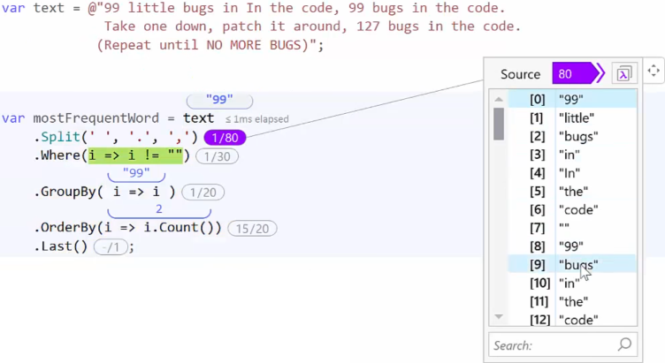 Innovative C# debugging experience with OzCode v4 | Making