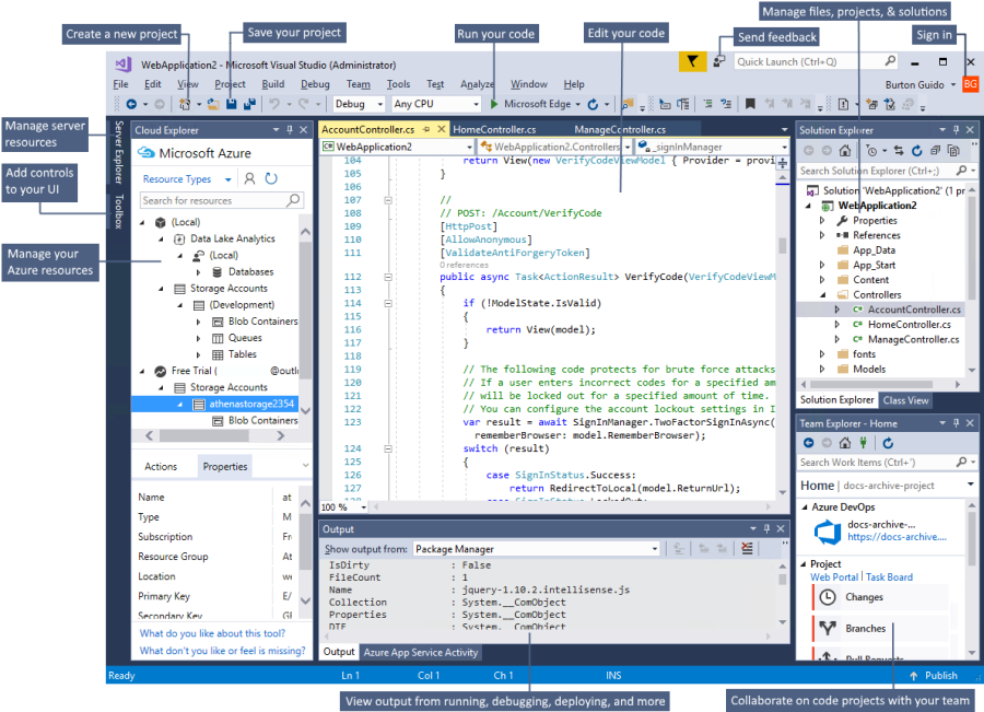 Most Popular Development Environments | Making Visual Studio perfect